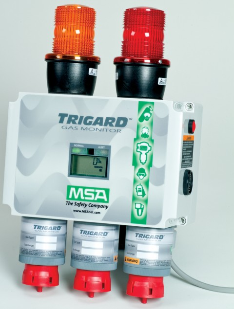 Msa Msa S Trigard Monitoring System Wastewater Press